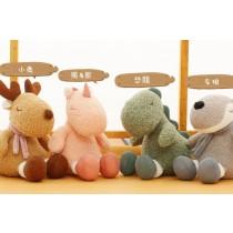 《兒童節》可愛動物毛絨玩偶