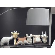 《兒童節》狐狸 大象 長頸鹿 動物造型抱枕 沙發枕