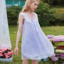宮廷風睡衣裙