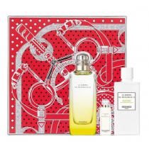 《情人節必買》HERMES 愛馬仕 李先生的花園淡香水禮盒 淡香水100ML+7.5ML+身體乳80ML