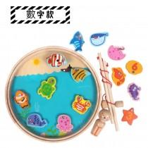 《兒童節》兒童磁性木製玩具釣魚組
