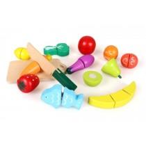 《兒童節》兒童木製水果切切樂 玩具