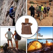露營 登山 腰包收納袋 戶外覓食收納袋