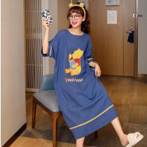 韓版可愛圖案居家休閒睡裙