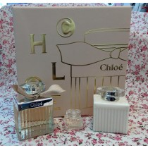 《情人節禮物》CHLOE' 同名淡香精禮盒 淡香精5ml+75ml , 身體乳100ml