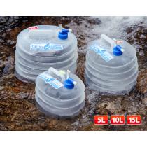 便攜折疊水龍頭儲水桶