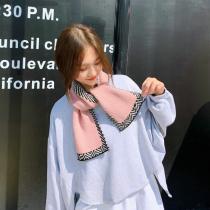 韓版編織柔軟小圍巾