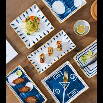 日式和風長型壽司盤